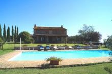 freistehendes Toskana Ferienhaus mit Pool Alleinnutzung