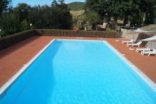 ToskanaFerienwohnung Albicocca mit Pool