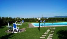 Toskana Ferienwohnung mit Pool Meernähe