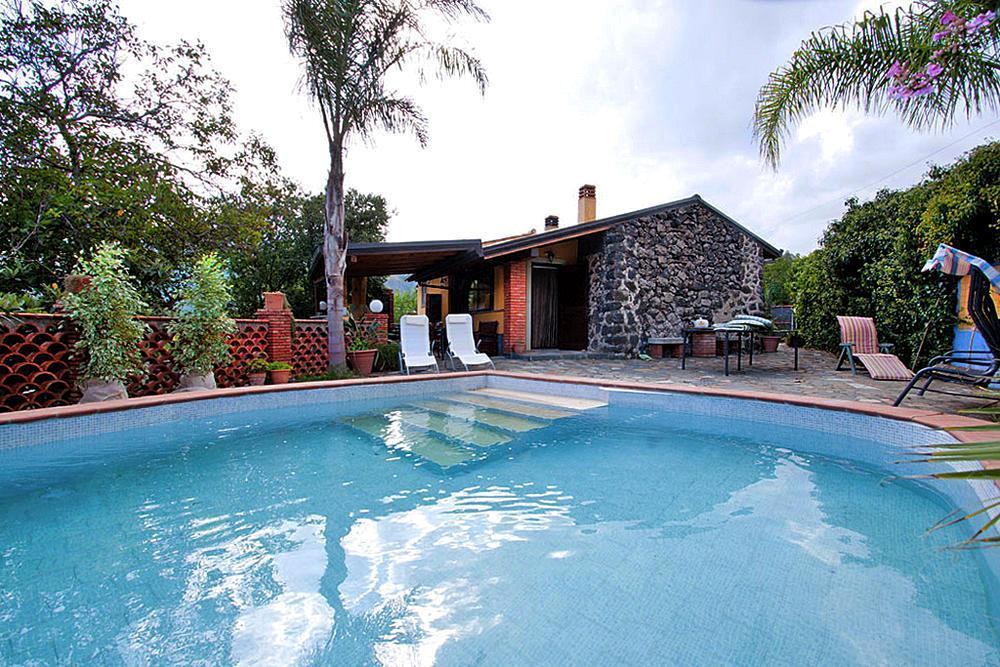 Sizilien Ferienhaus mit Pool Taormina