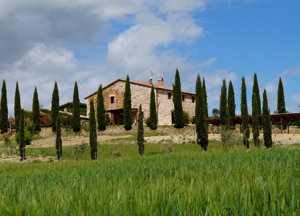 freistehendes Toskana-Ferienhaus mit Pool Val d Orcia
