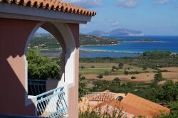 Ferienwohnung auf Sardinien mit Meerblick und Pool