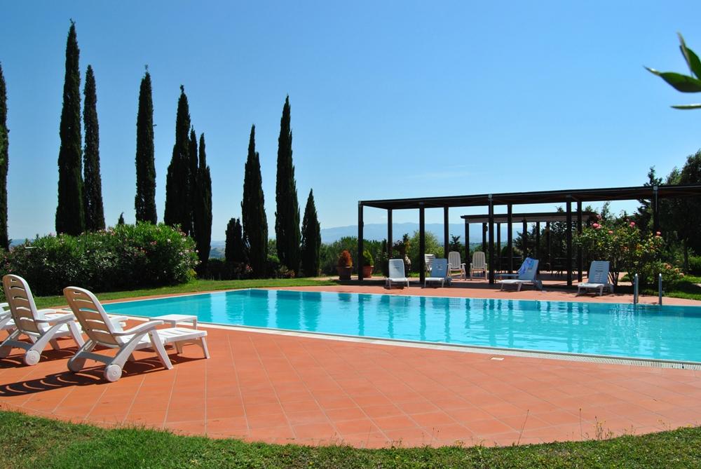 Toskana Ferienhaus alleinstehend 2-3 Personen mit Pool