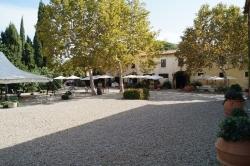 Weingut Italien Innenhof