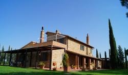 Ferienwohnung Toskana alleinstehend mit Pool