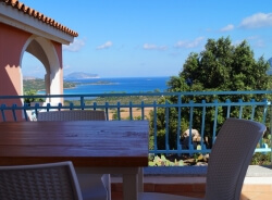 Apartment auf Sardinien für 4 Personen mit Meerblick