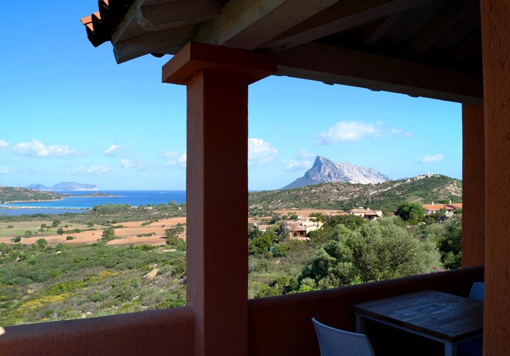 Ferienwohnung mit Meerblick auf Sardinien