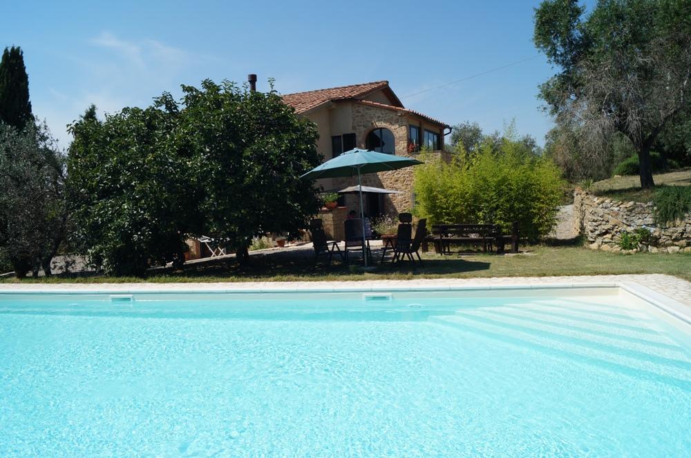 Toskana-Ferienwohnung mit Privatpool