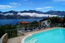Gardasee Ferienwohnung mit Pool in Malcesine