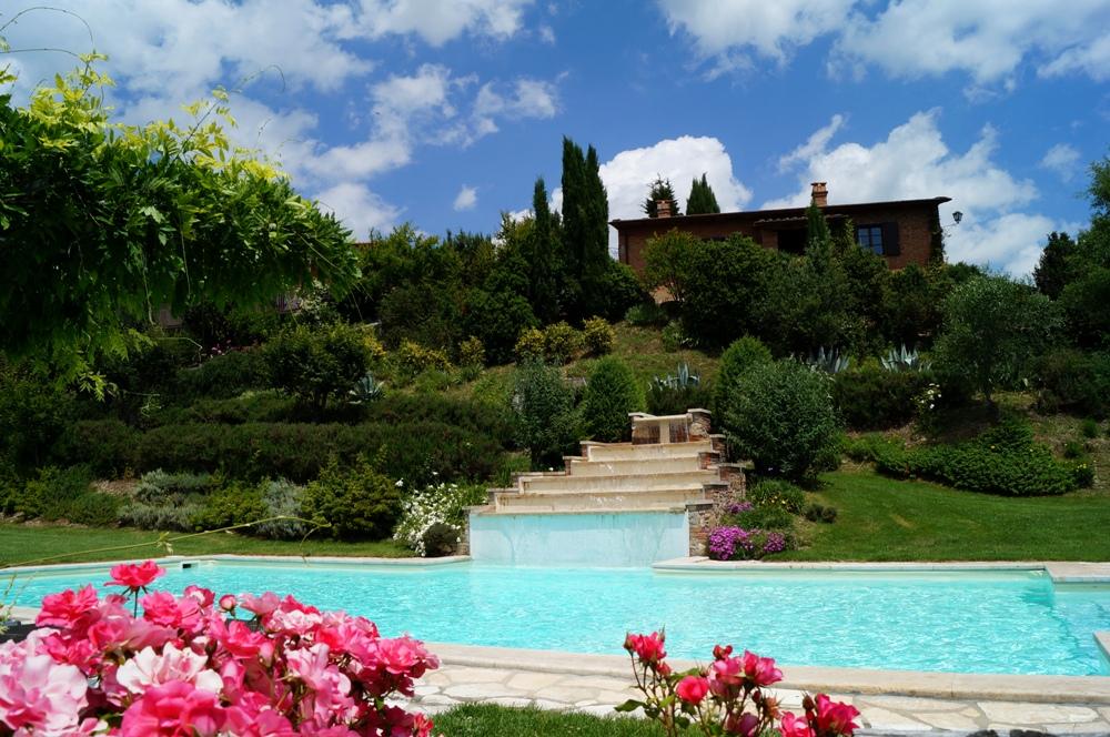 alleinstehendes Ferienhaus in der Toskana mit Pool