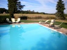 Siena-Ferienwohnung Pool