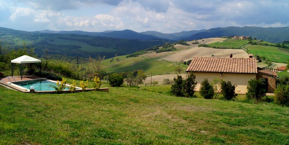 freistehendes Ferienhaus in der Toskana für 6 Personen mit Pool
