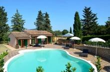 Toskana-Ferienhaus freistehend mit Pool für 4-6 Personen