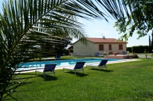 Toskana Ferienwohnung mit Pool am Meer