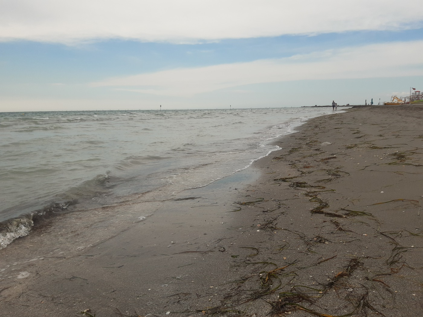 Grado , feiner Sandstrand in Friaul-Julisch Venetien