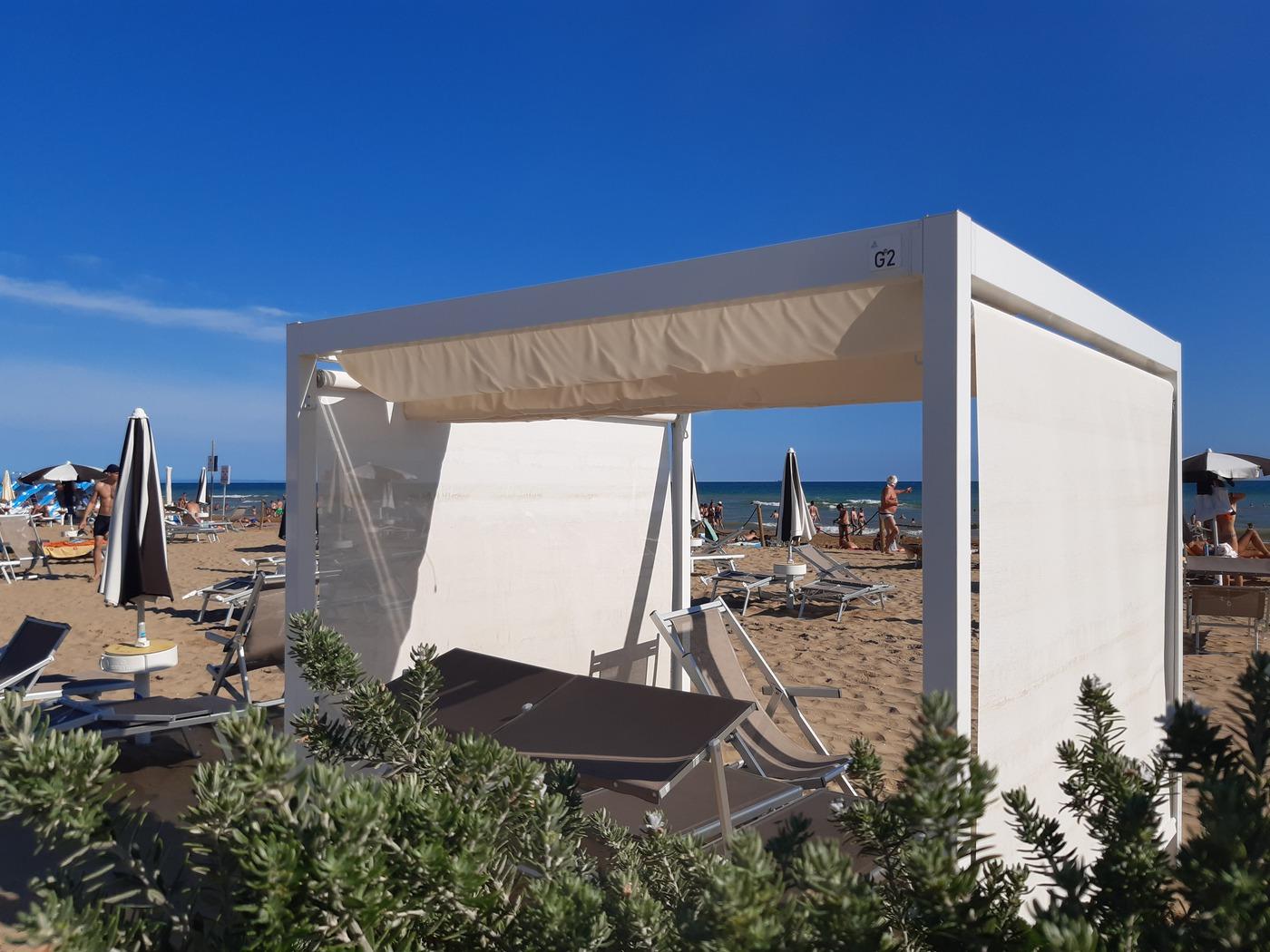 Spiaggia di Bibione, feiner Sandstrand in Venetien
