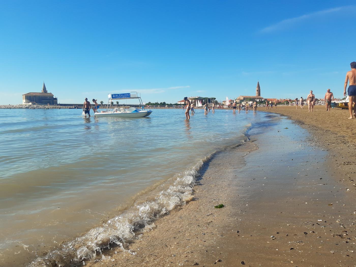 Caorle, feiner Sandstrand in Venetien