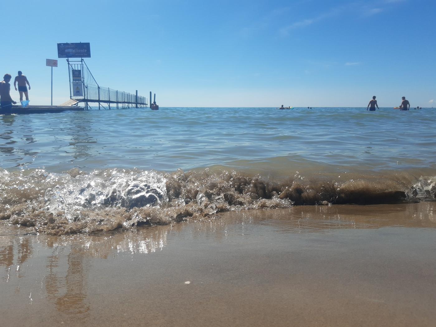 La Spiaggia di Jesolo, feiner Sandstrand in Venetien