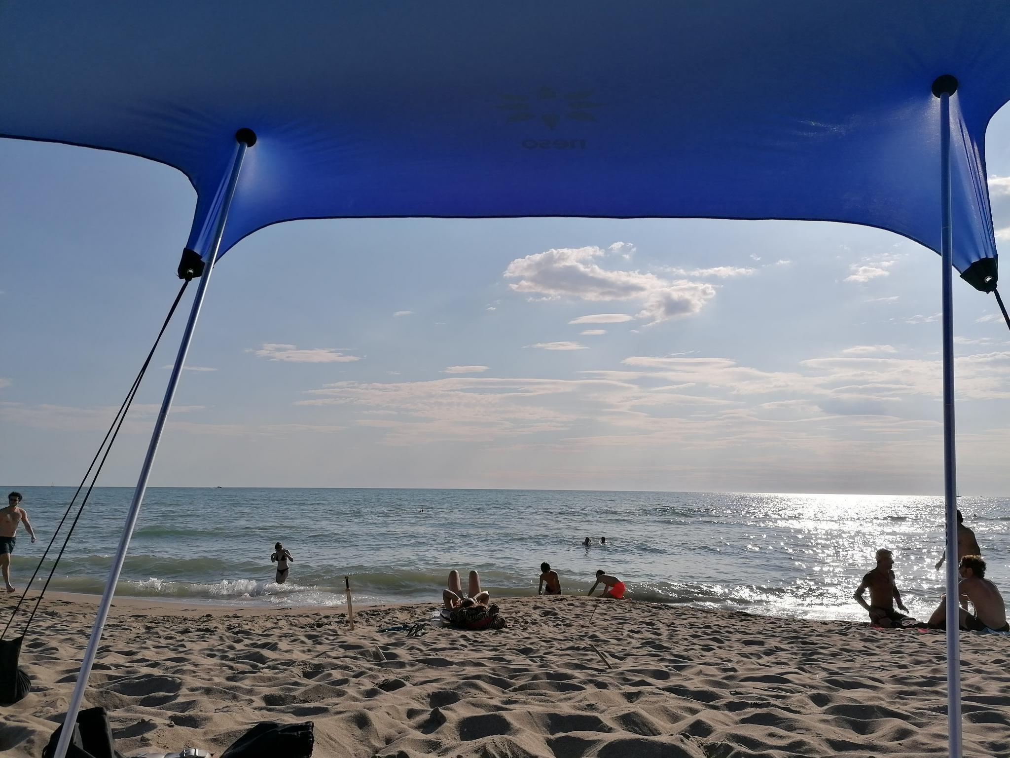 Spiaggia della Lecciona, feiner Sandstrand in der Toskana