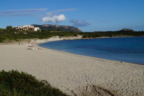 feiner Sandstrand Spiaggia Bianca, Sardinien