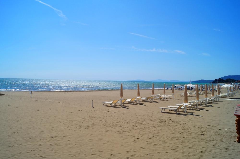 Castiglione della Pescaia, feiner Sandstrand in der Toskana