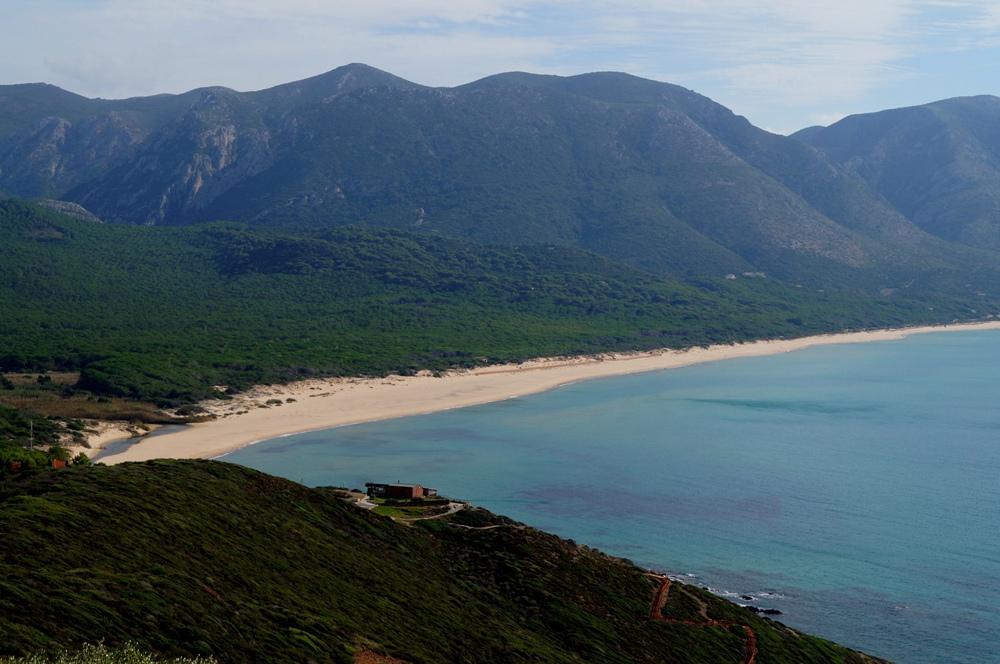 Portixeddu, feiner Sandstrand auf Sardinien