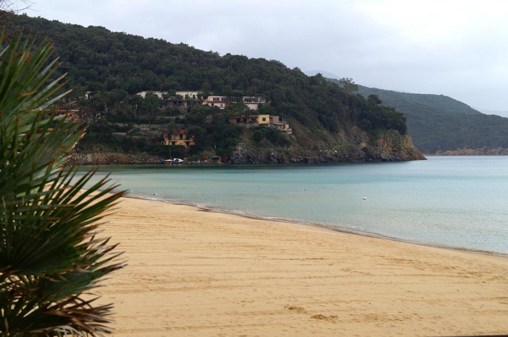 Biodola, feiner Sandstrand in der Toskana