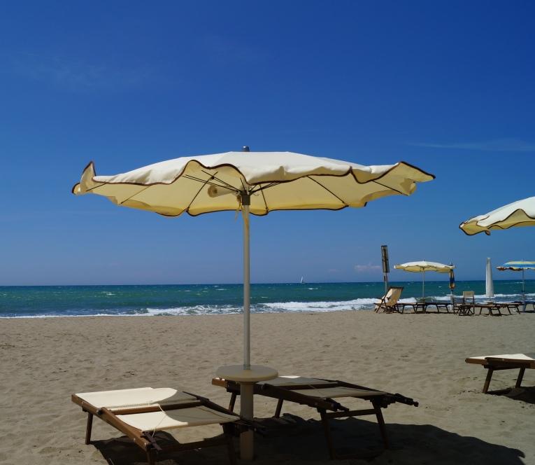 Marina di Grosseto, feiner Sandstrand in der Toskana