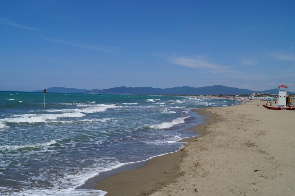Marina di grosseto feiner sandstrand in der toskana strandbewertung und fotos - Bagno moreno marina di grosseto ...