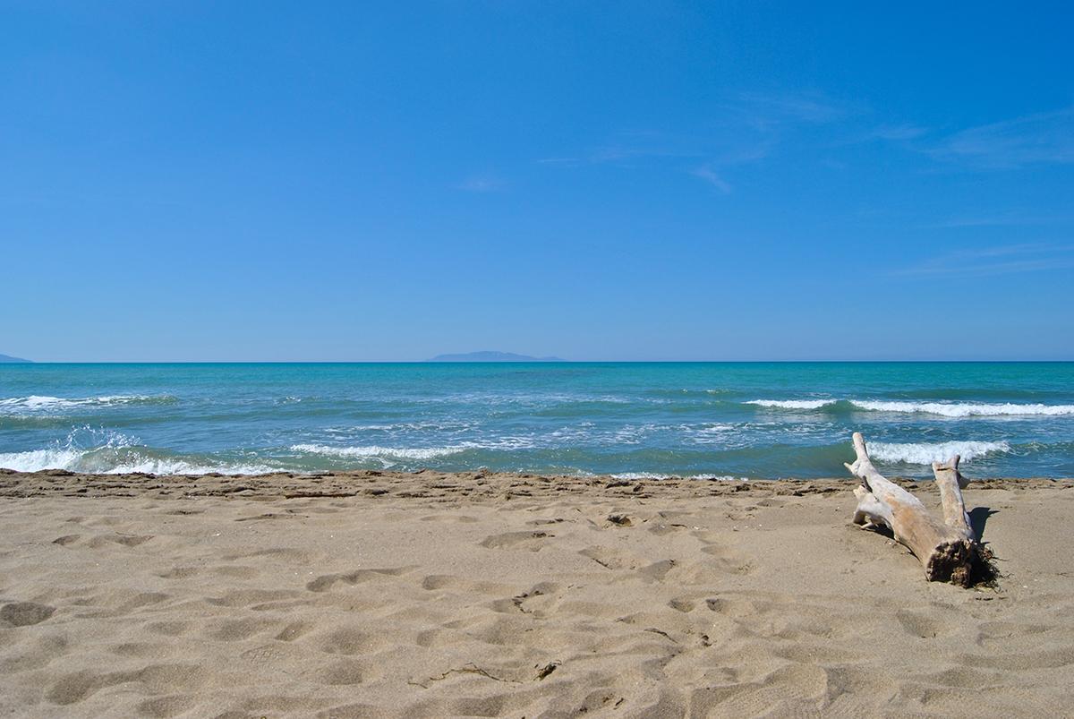 Marina di Alberese, feiner Sandstrand in der Toskana