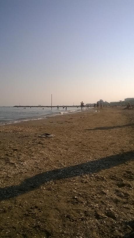 Sandstrand Lido di Venezia, Venetien