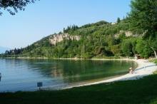 Steinstrand Baia Delle Sirene, Gardasee