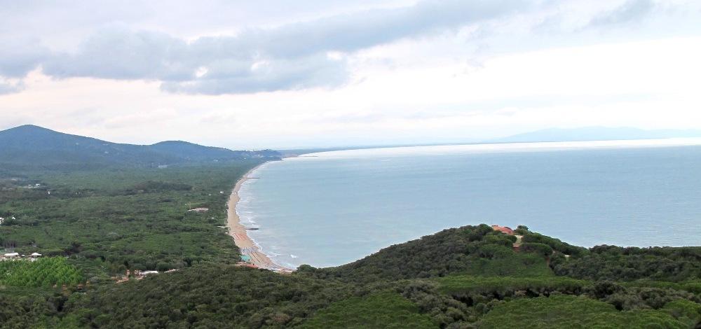 Le Rocchette, feiner Sandstrand in der Toskana