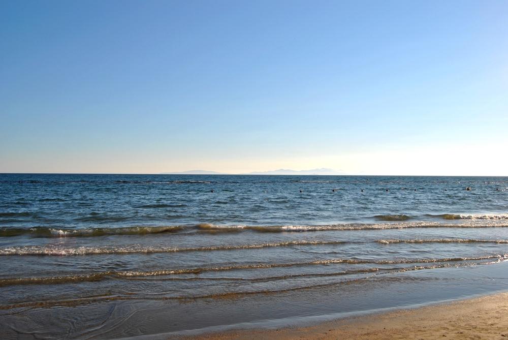 Follonica, feiner Sandstrand in der Toskana