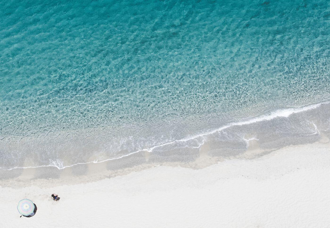 Spiaggia Di Tropea, feiner Sandstrand in Kalabrien