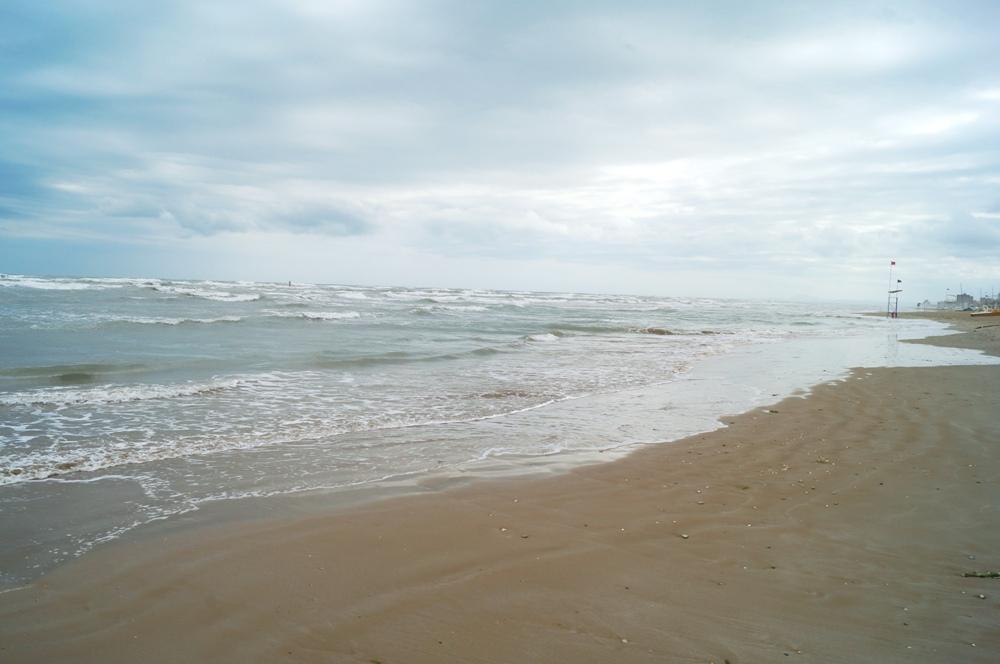 Marotta, Sandstrand in Marken