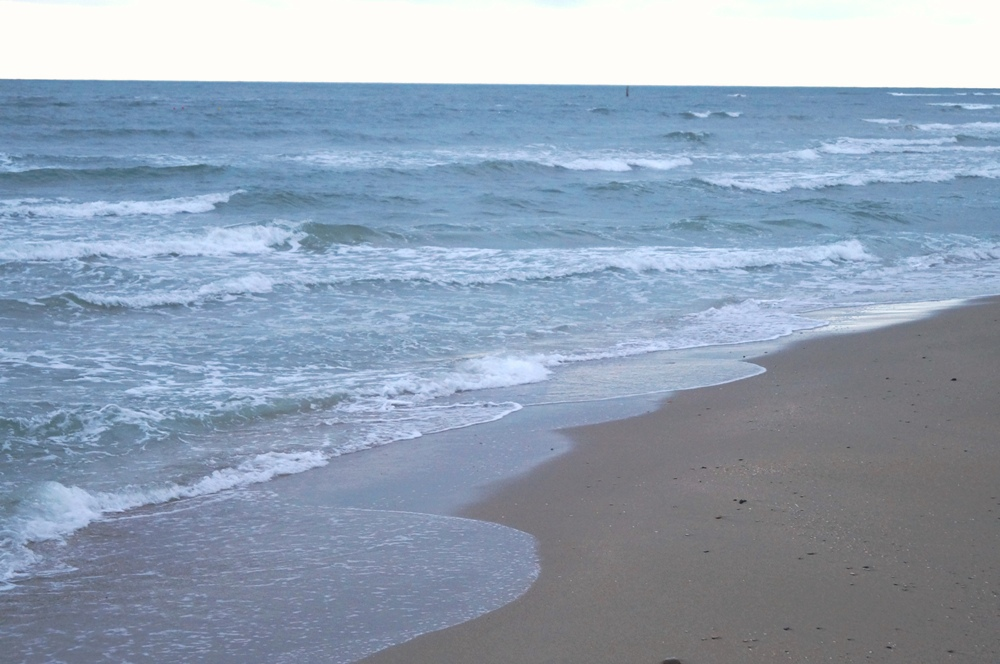 Pesaro, feiner Sandstrand in Marken